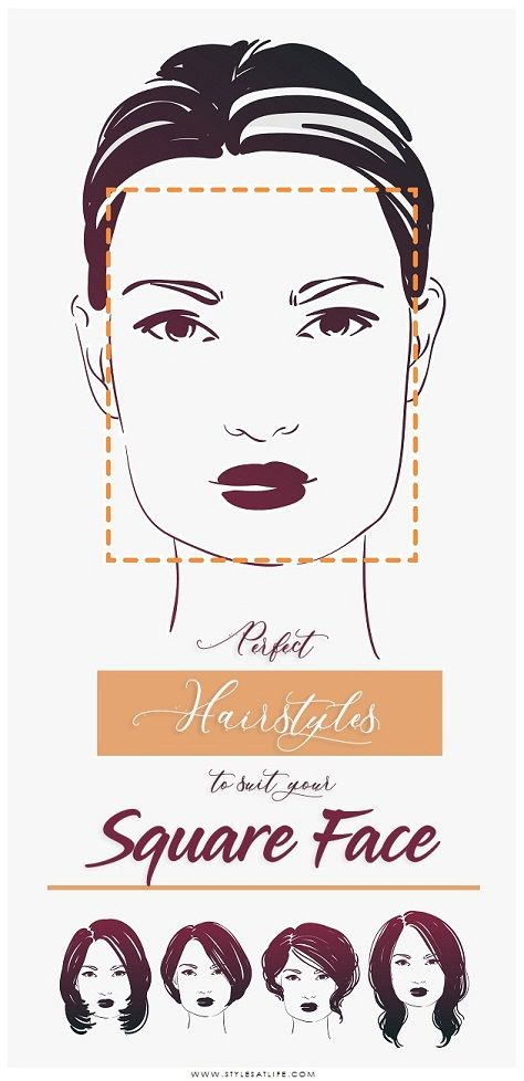 19+ Hairstyles for square face female inspirations