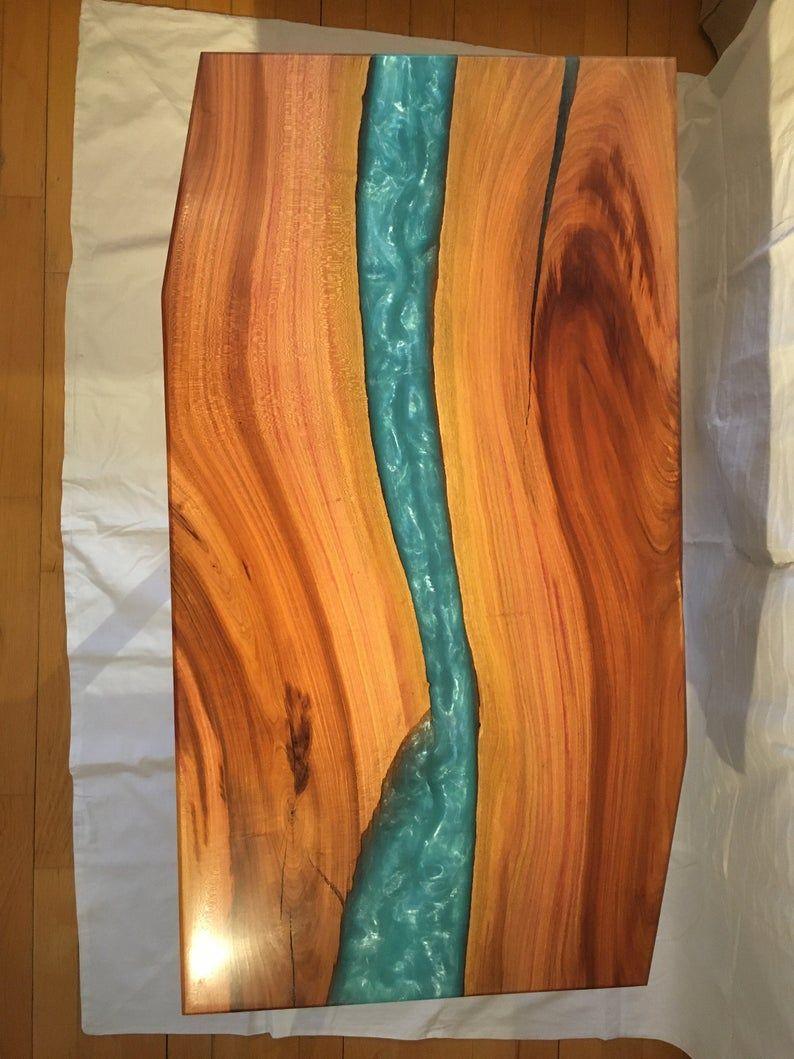 33+ Wood epoxy river coffee table ideas