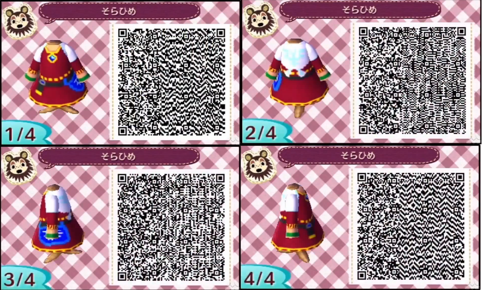 acnl skyward sword zelda - Google Search | Acnl QR-Code ...