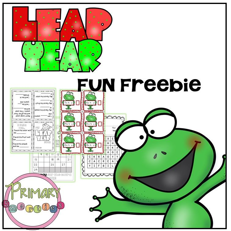 Preschool Calendar, Leap Day, Fun