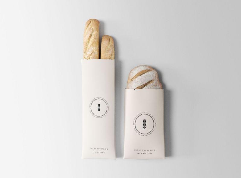 Download Bread Packaging Free Psd Mock Ups Bread Packaging Bakery Branding Design Bakery Branding