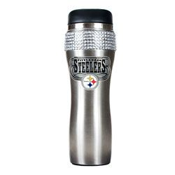 Great American Products New York Jets 16oz Stainless Steel Travel Tumbler//Mug