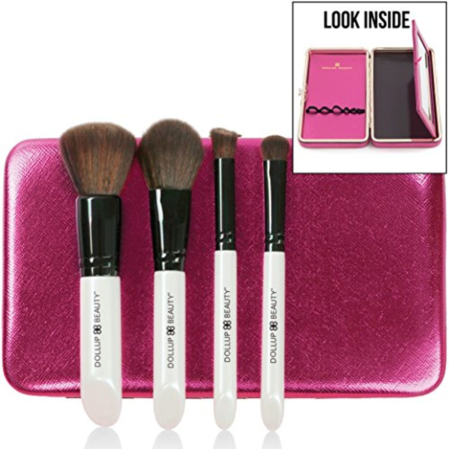 NEW Small Travel Makeup Brush Set ToolsAccessories