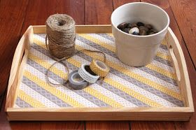 Lovely Little Life: Easy DIY Washi Tape Serving Tray