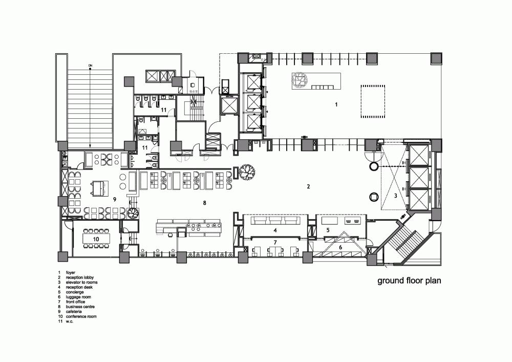 Gallery of Hotel Dua / Koan Design - 33 | Hotel lobby ...
