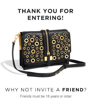 Bloomingdale's Purse give away