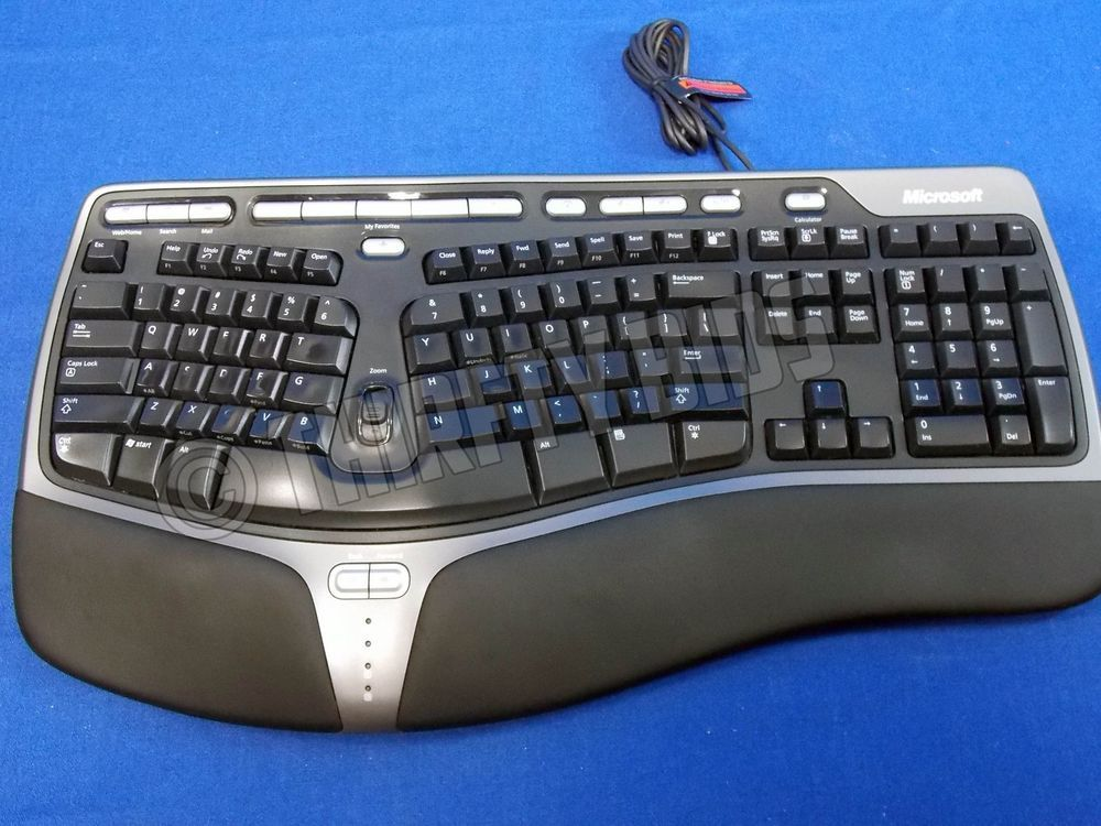 Microsoft Natural Ergonomic Keyboard 4000 V1 0 Usb Fully Tested Ku 0462 Freeship Keyboard Microsoft Usb