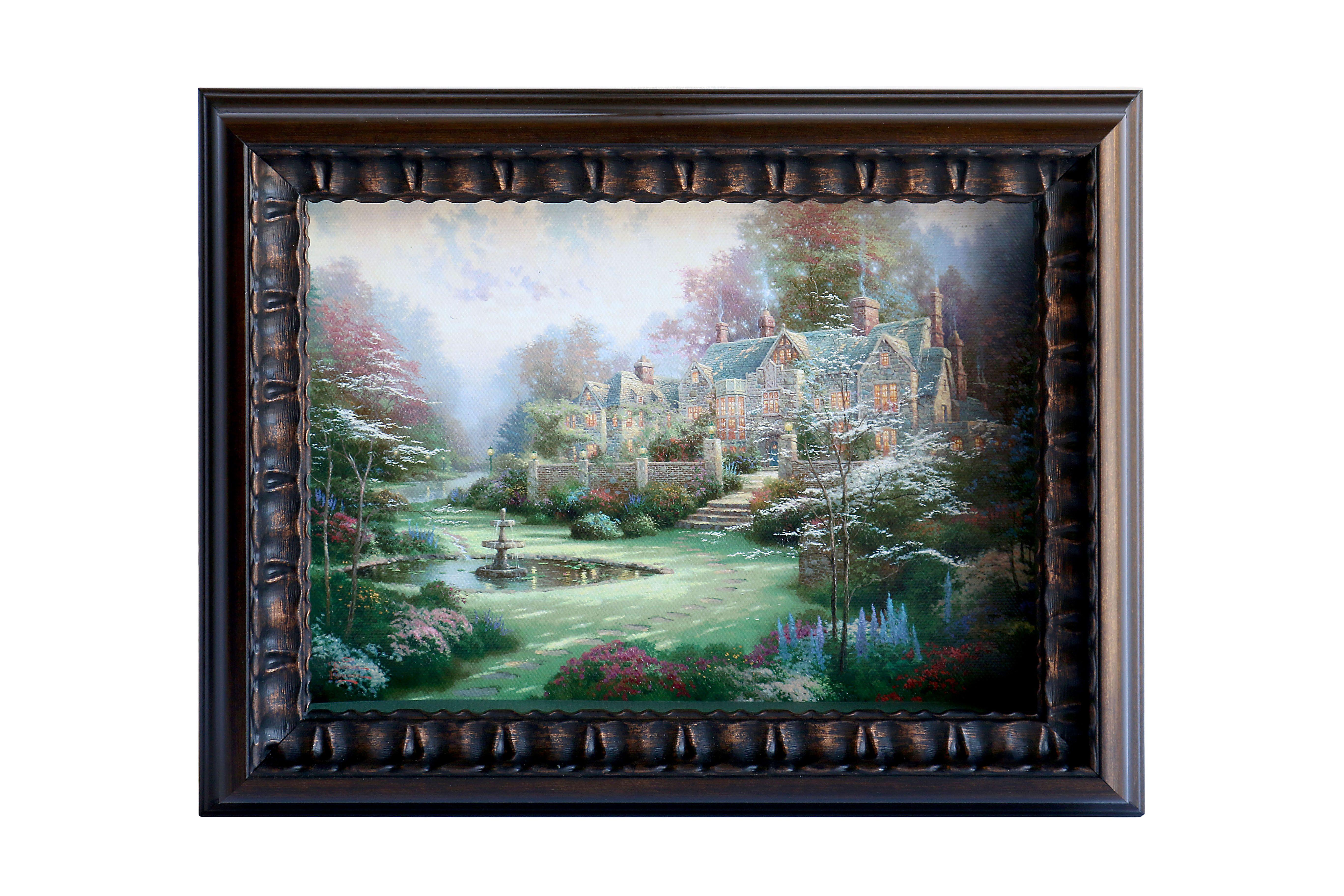 Thomas Kinkade Shadow Box Canvas Prints | Thomas Kinkade on EVINE ...