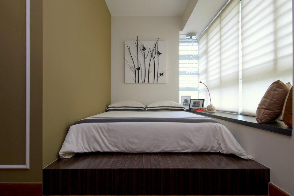 Spalnya Na Balkone Oformlenie Dizajna Lodzhii S Krovatyu Foto Interera 豪華なベッドルーム 狭い寝室のデザイン カップルの寝室