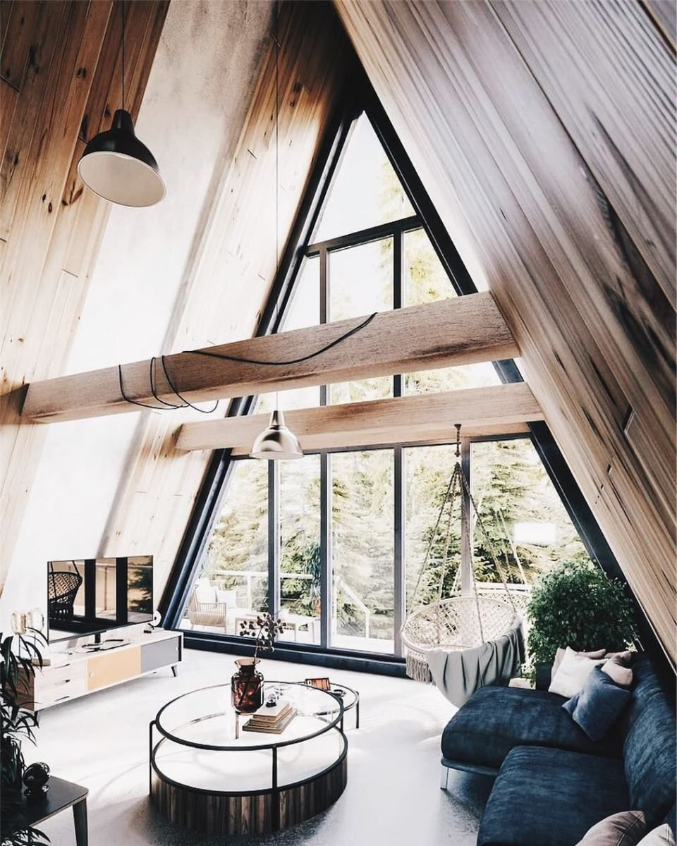 Minimal Interior Design Inspiration 161 A Frame House A Frame House Plans Cabin Interiors