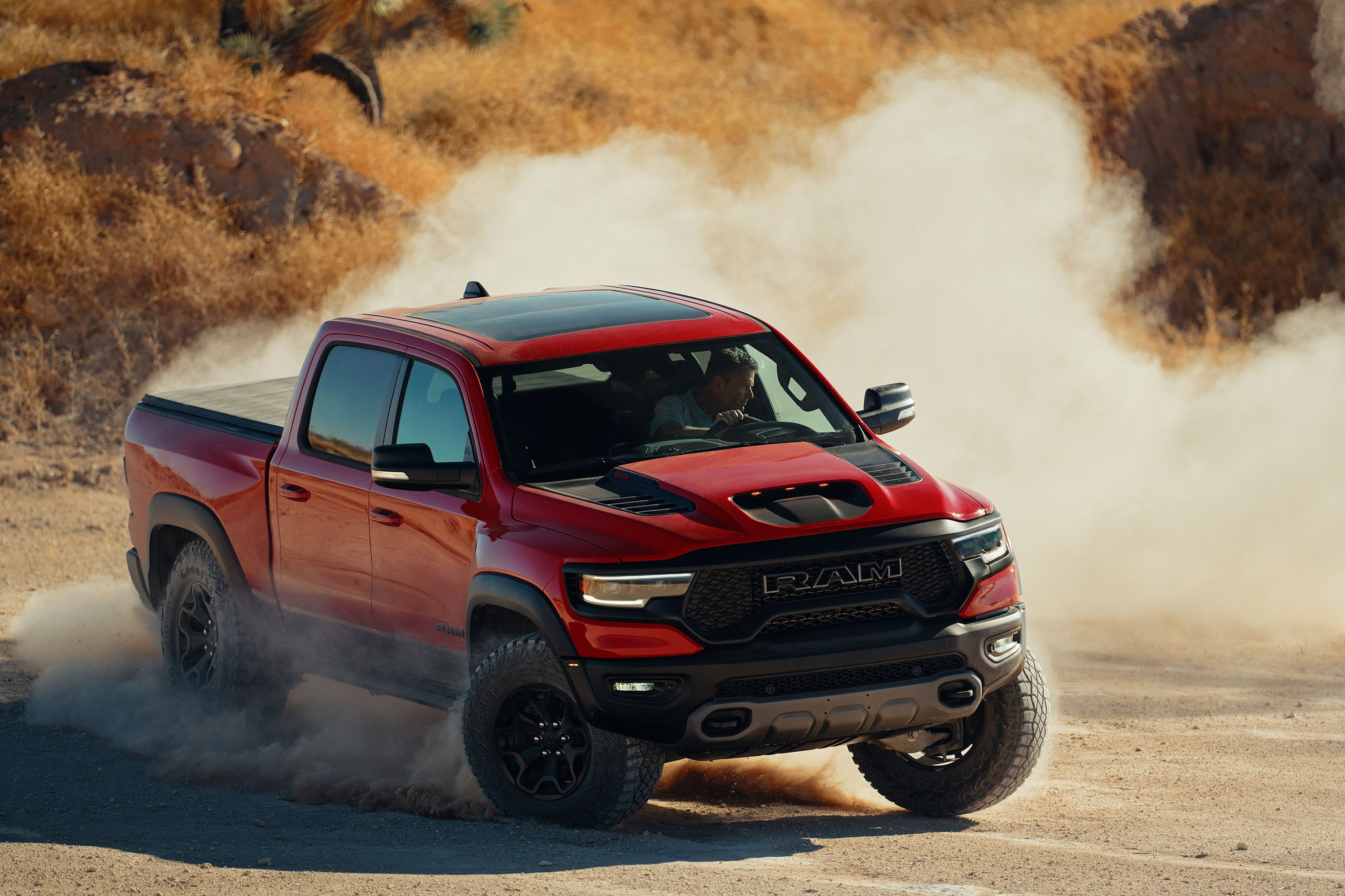The 2021 Ram 1500 Trx Arrives To Take The Title Of The Most Powerful Mass Produced Truck In The World Top Speed In 2020 Trx Hellcat Ram 1500
