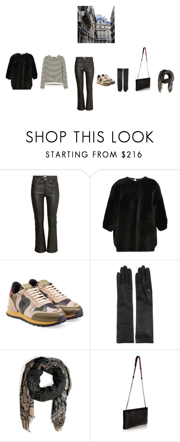 """Без названия #575"" by ya-irchy ❤ liked on Polyvore featuring moda, H&M, Rochas, Valentino, Lanvin, Etro, Christian Louboutin, women's clothing, women y female"
