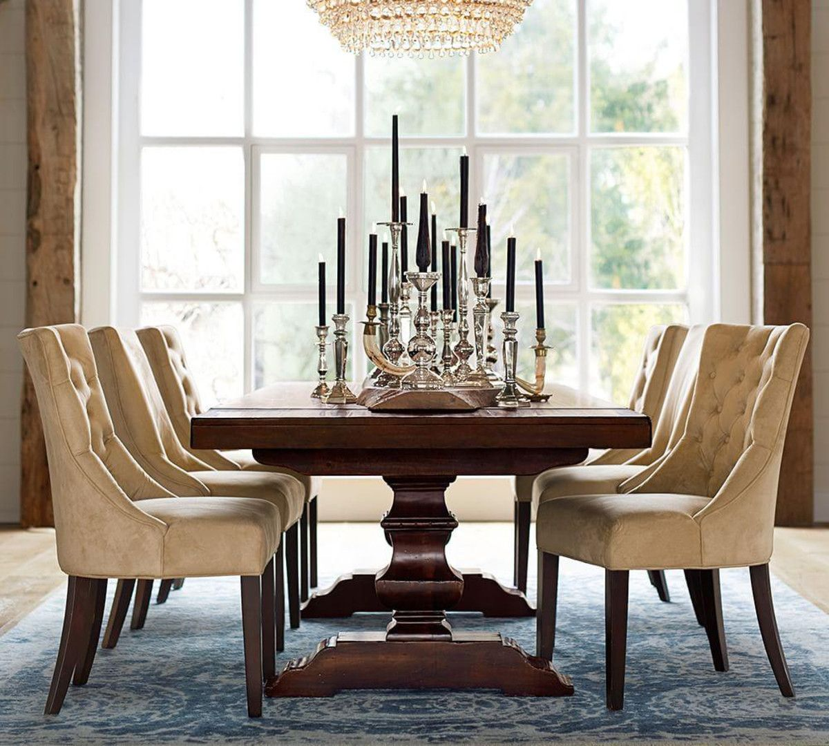 Banks Extending Dining Table Pottery Barn Au Pottery Barn Dining Table Elegant Dining Room Dining Room Table