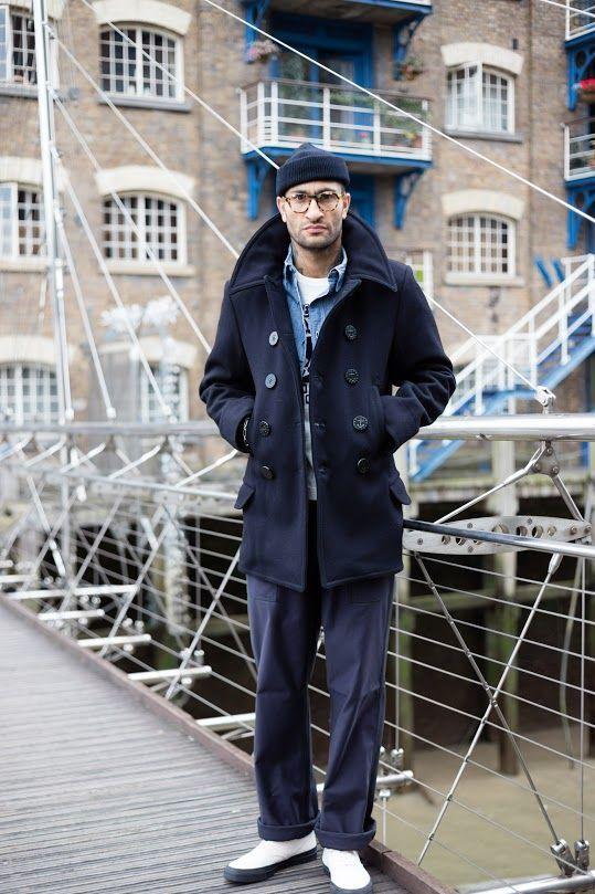 Le marin moderne #caban #peacoat #coat #menstyle #style   Kleidung ...