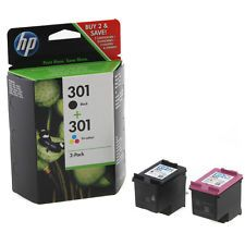 Genuine Original HP 301 Black & Colour Ink Cartridge For Deskjet 1010 Printer | http://www.cbuystore.com/page/viewProduct/9993481 | United States