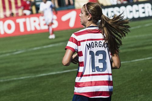 Alex Morgan aka the beast