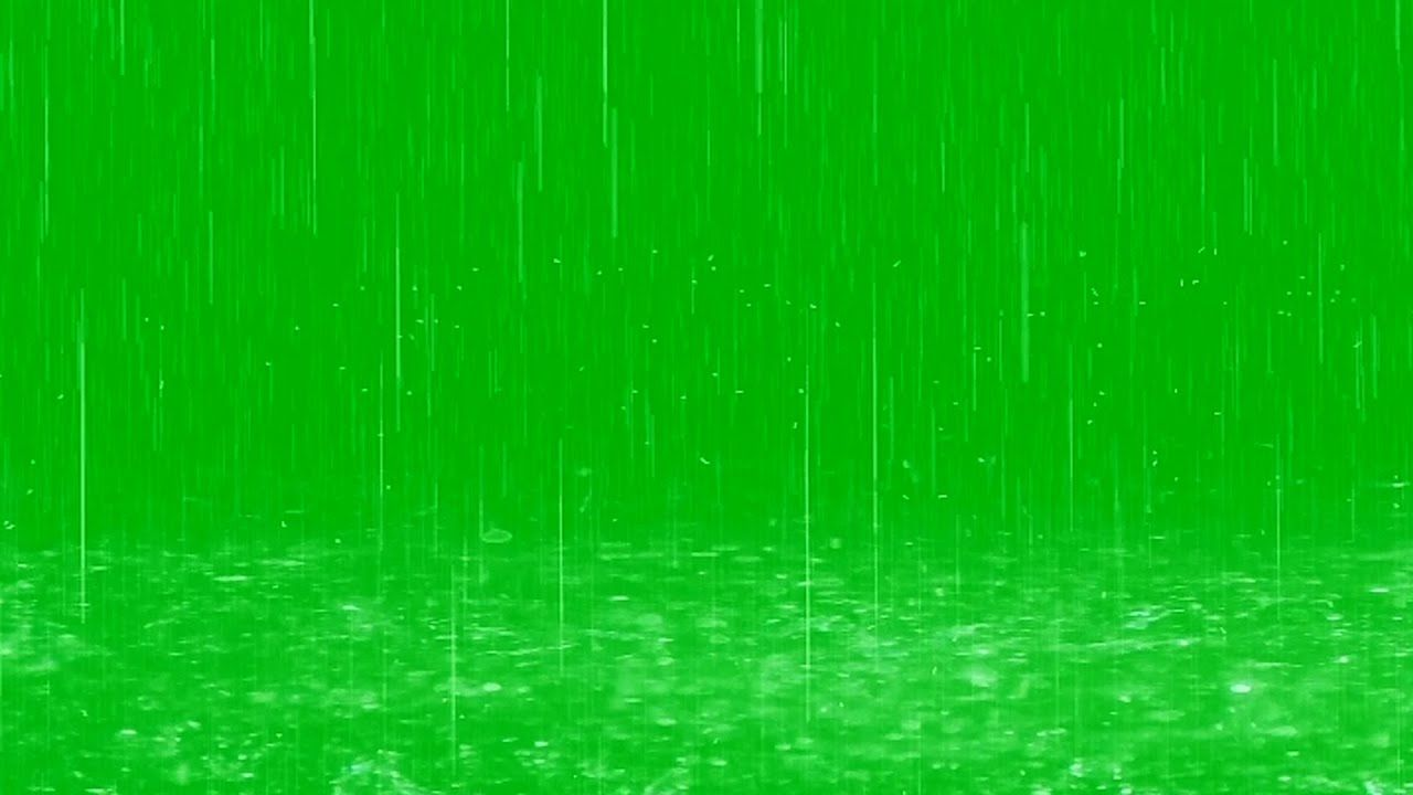 Raindrops Fall In Puddles Green Screen Effect Green Screen Video Backgrounds Green Background Video Greenscreen