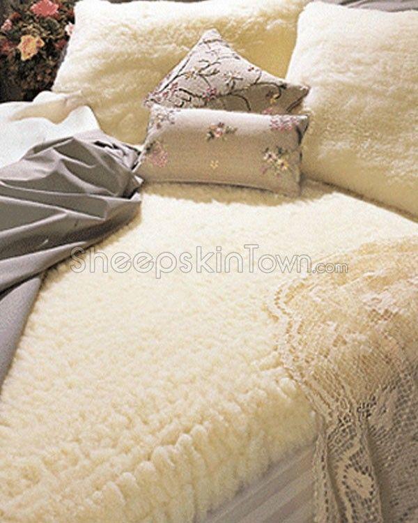 Sheepskin Wool Mattress Pad Queen Size Wool Mattress Pad Wool Mattress Mattress Pad Queen