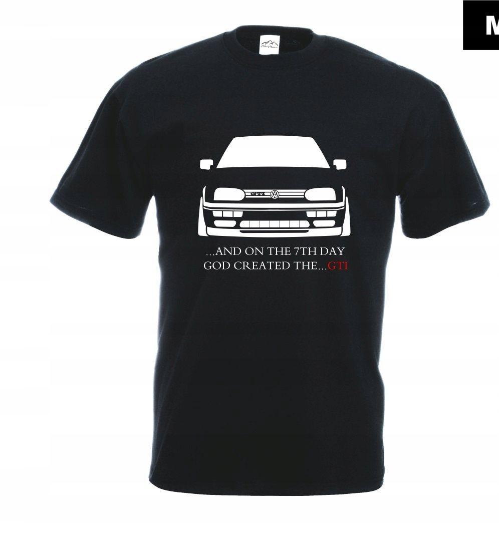 Koszulka Z Nadrukiem Vw Golf 3 Gti Rozm M Mt328 Koszulki I Golf
