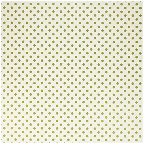 Echo Park Paper Cbfg102 Foiled Dots Echo Park Paper Craft Room Crafts To Make