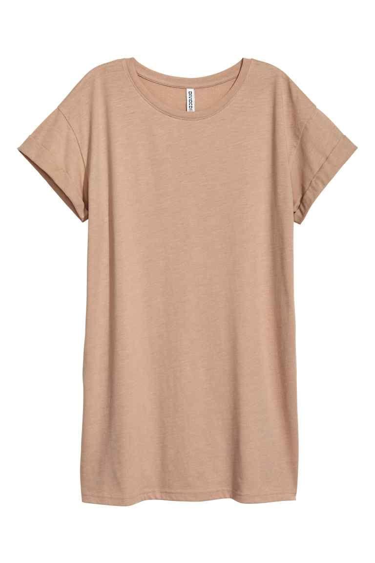 Tshirt long camel clair femme hum fr wear pinterest