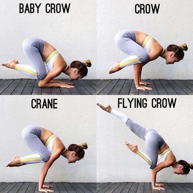 """Yoga N. post heute! von @roxanne_yoga auf @inflexibleyogis entdeckt. """"Arm balan … - Yoga & Fitness..."""