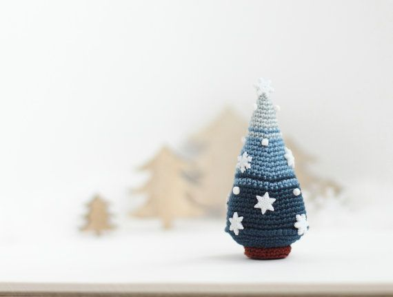 Christmas Tree, Crocheted Christmas Tree, Christmas decoration ...