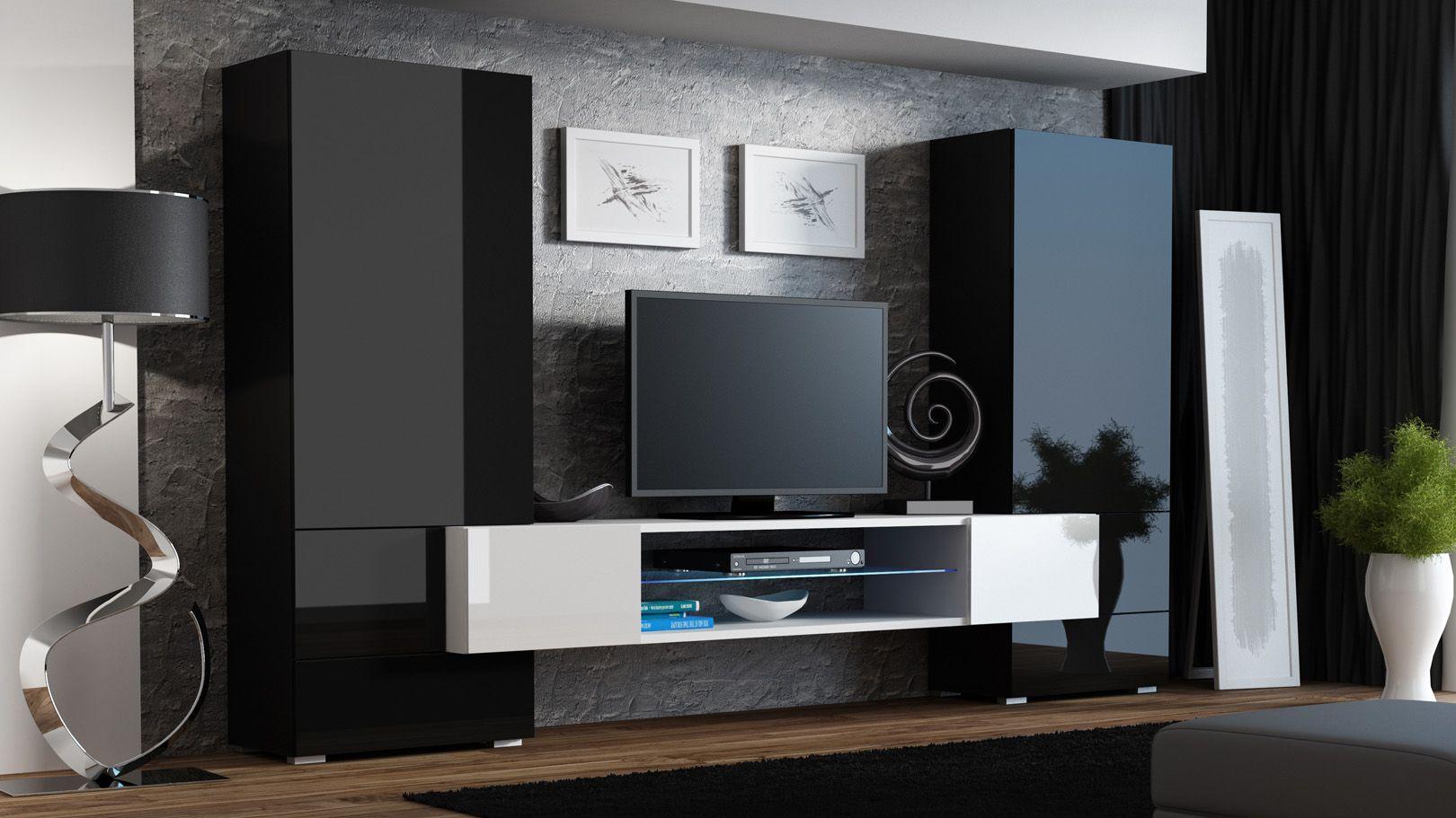Meuble Tv Moderne Meubles Tv Design Meuble De Television Meuble Tv Meuble Tele Meuble Tv Mu Avec Images Meuble Tv Mural Design Mobilier De Salon Meuble Tv Design
