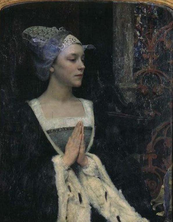 Edgar Maxence(1871ー1954)「Serenity」