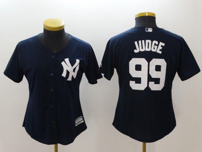 Women New York Yankees 99 Judge Blue MLB Jerseyscheap Mlb Jerseys China From 2018cheapnfls
