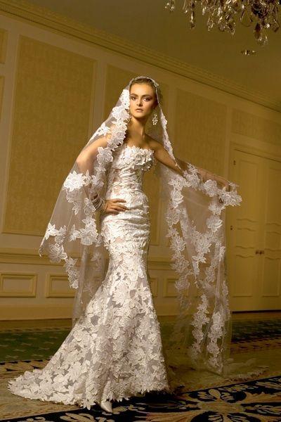 6ffd23161fbd st pucci Vera Wang Wedding Dress Lace, Lace Mermaid Wedding Dress, Bridal  Wedding Dresses