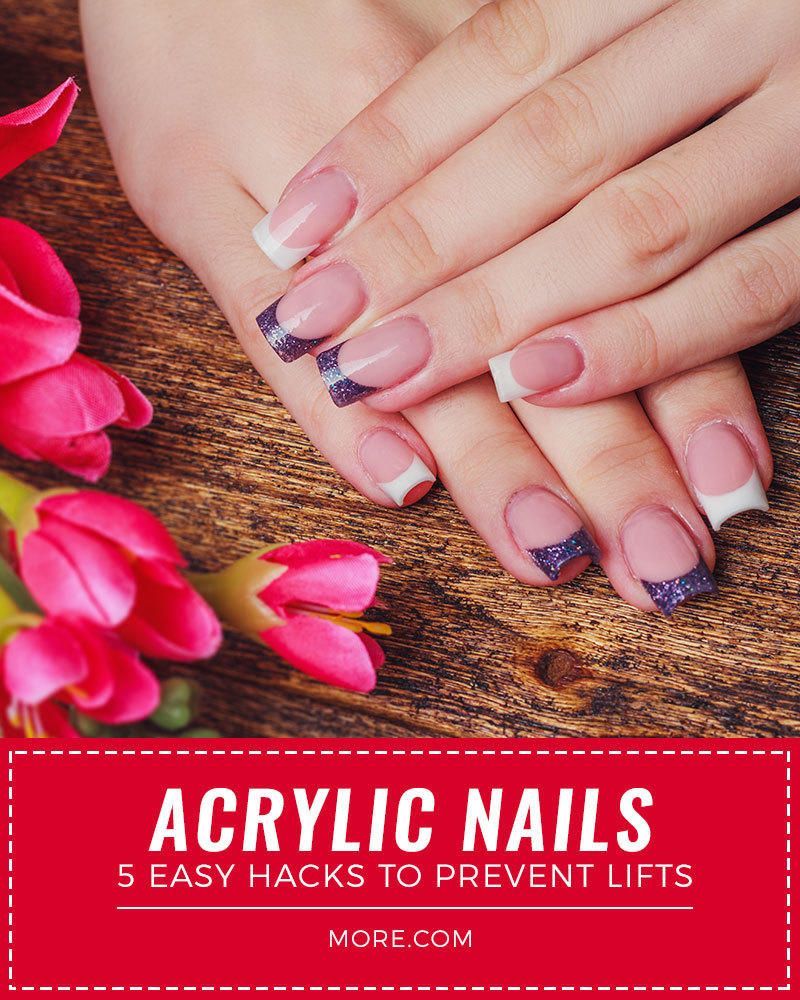 Acrylic Nails 5 Easy Hacks To Prevent Lifts More Nails Acrylic Nails Halloween Nails