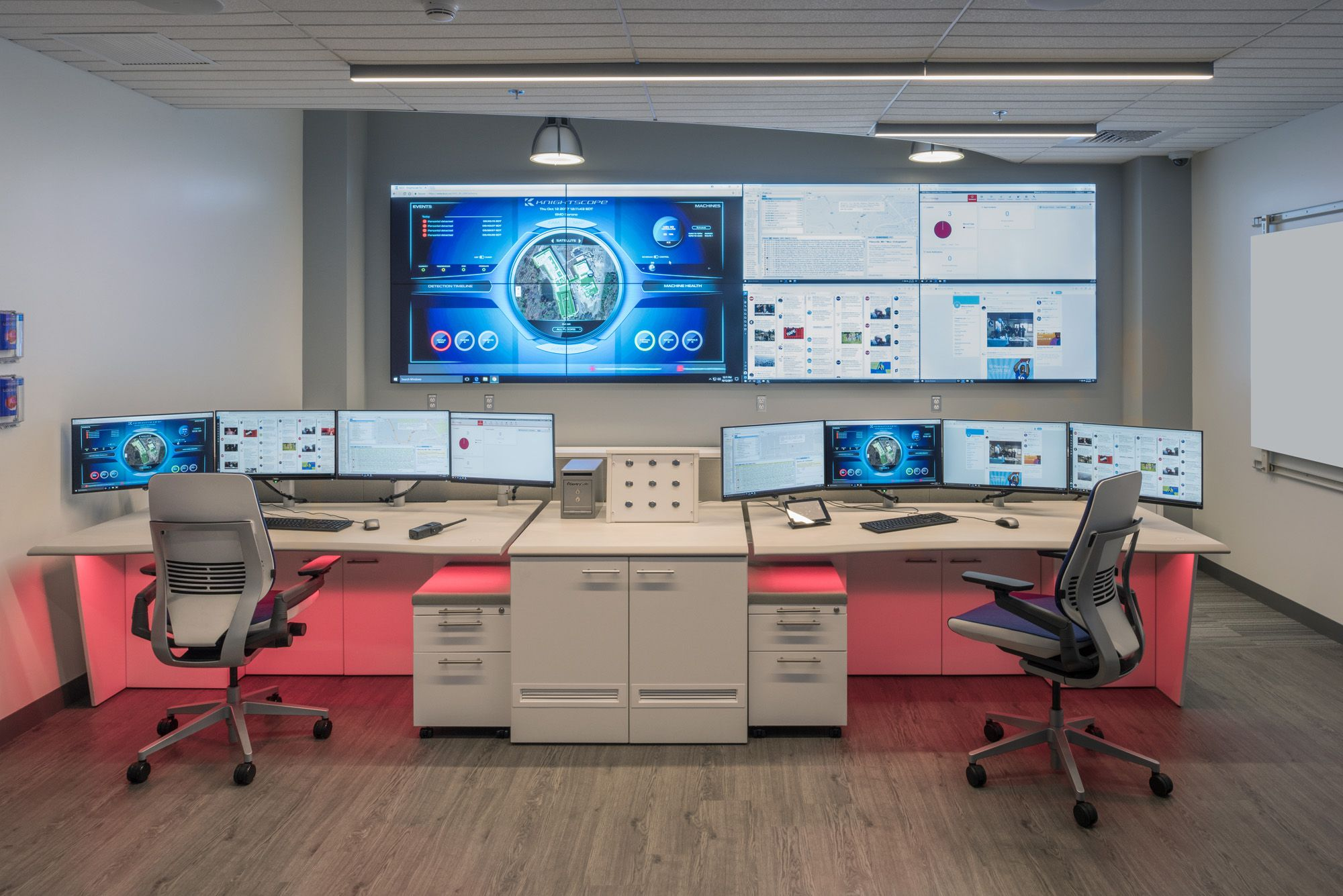 Showpiece Video Wall Integration and Command Center