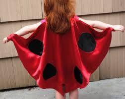 1 To 2 Years// Infant-toddler Child Toddler Poncho Ladybug Costume For Girls
