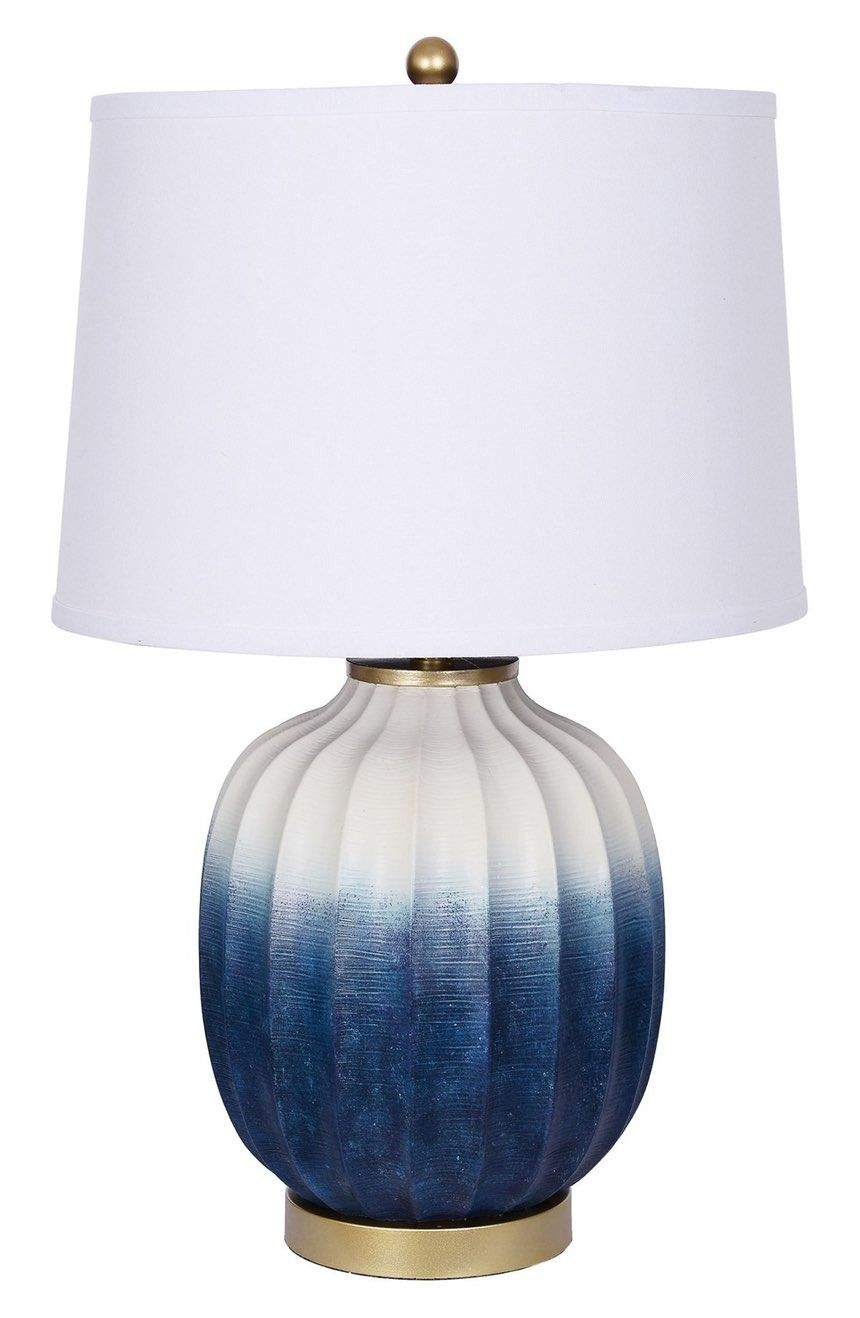 Jalexander Ombre Table Lamp Table Lamp Lamp Ceramic Table Lamps