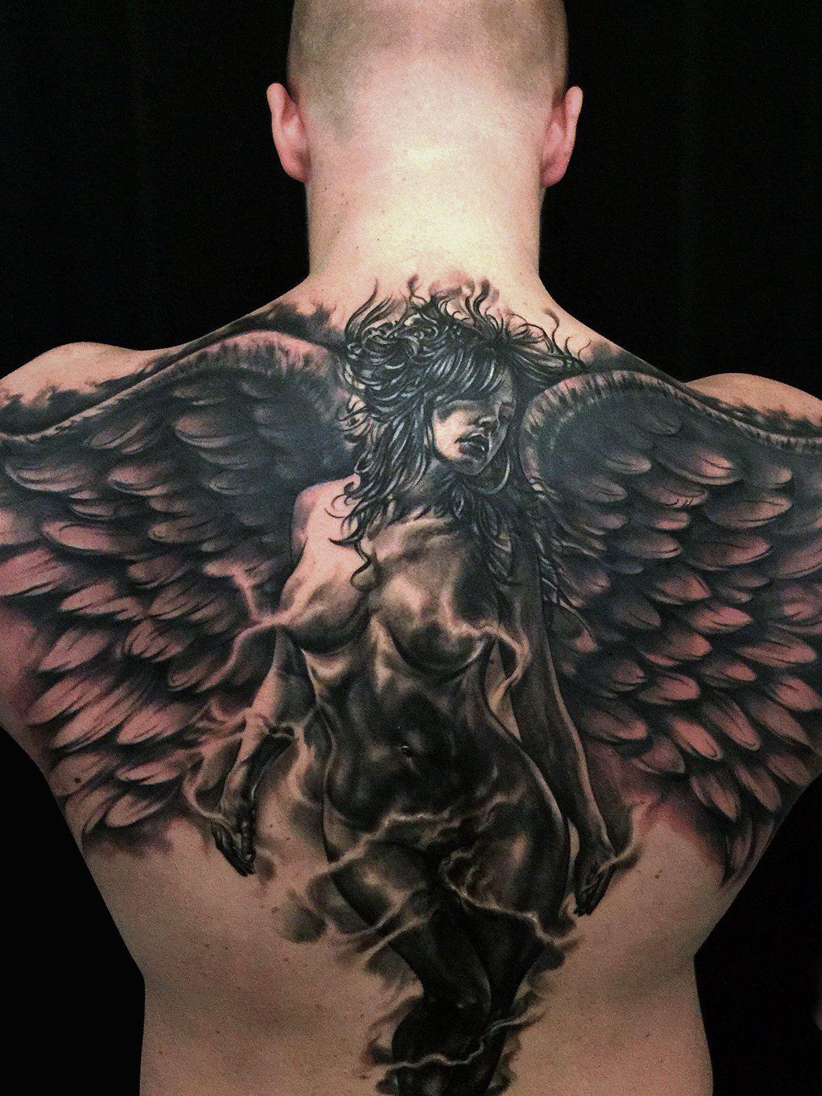 это когда фото тату ангелами себя помню, столько