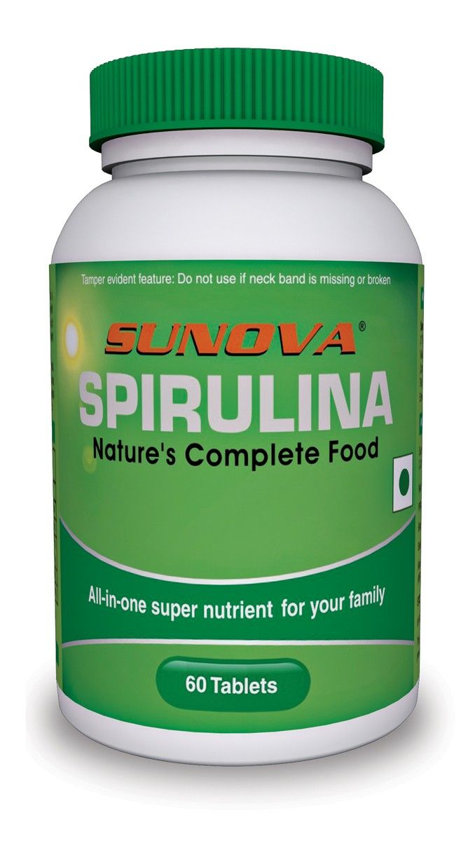 Sunova Spirulina 500mg Buy Online At Lowest Price In India