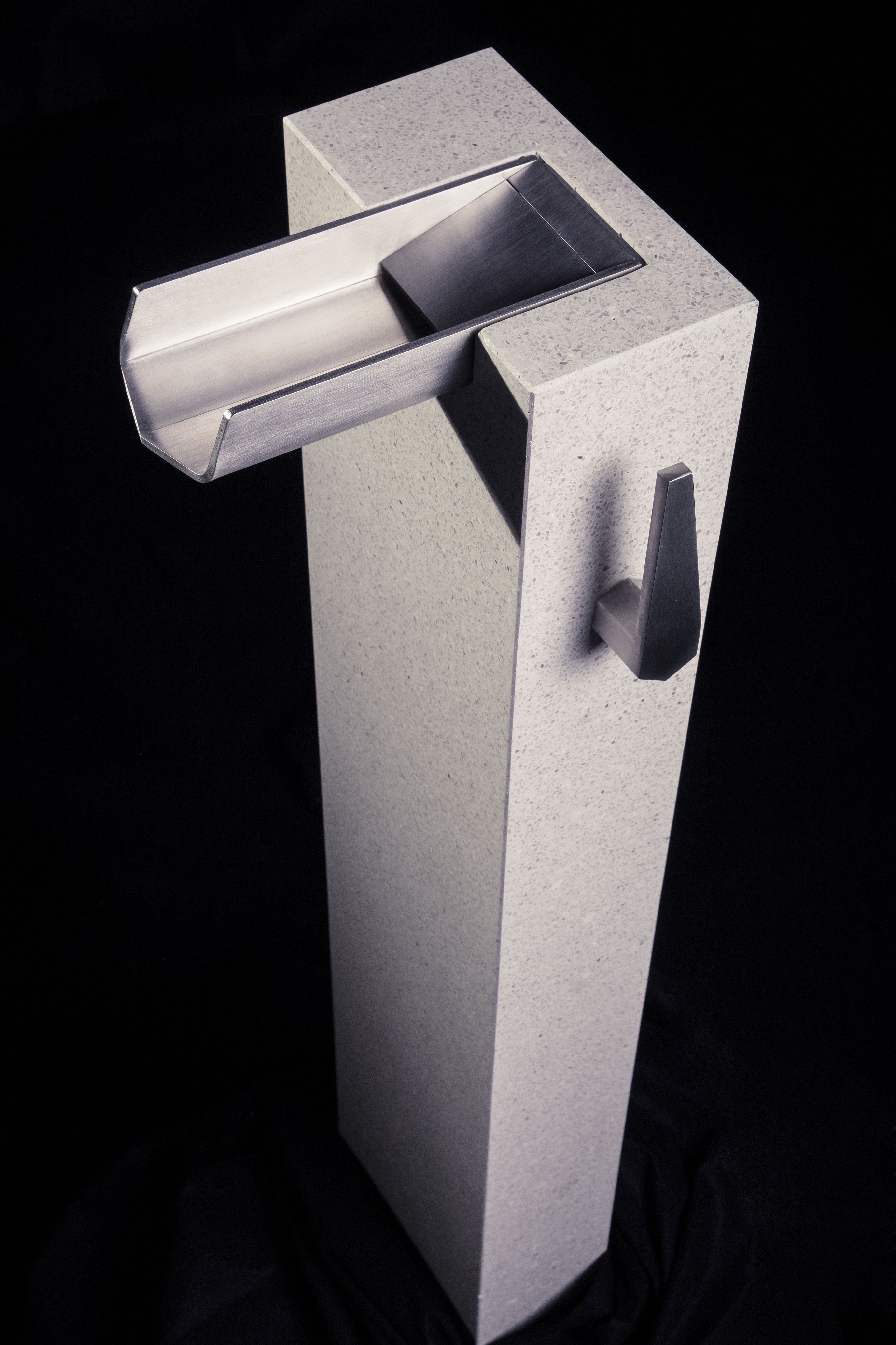 How about a wonderfully designed outdoor water faucet http://www ...