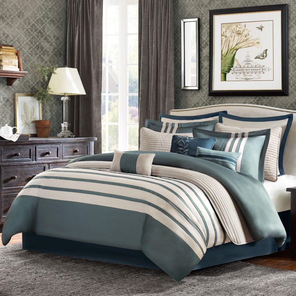 Madison Park Harlem 12 Piece Comforter Set Comforter