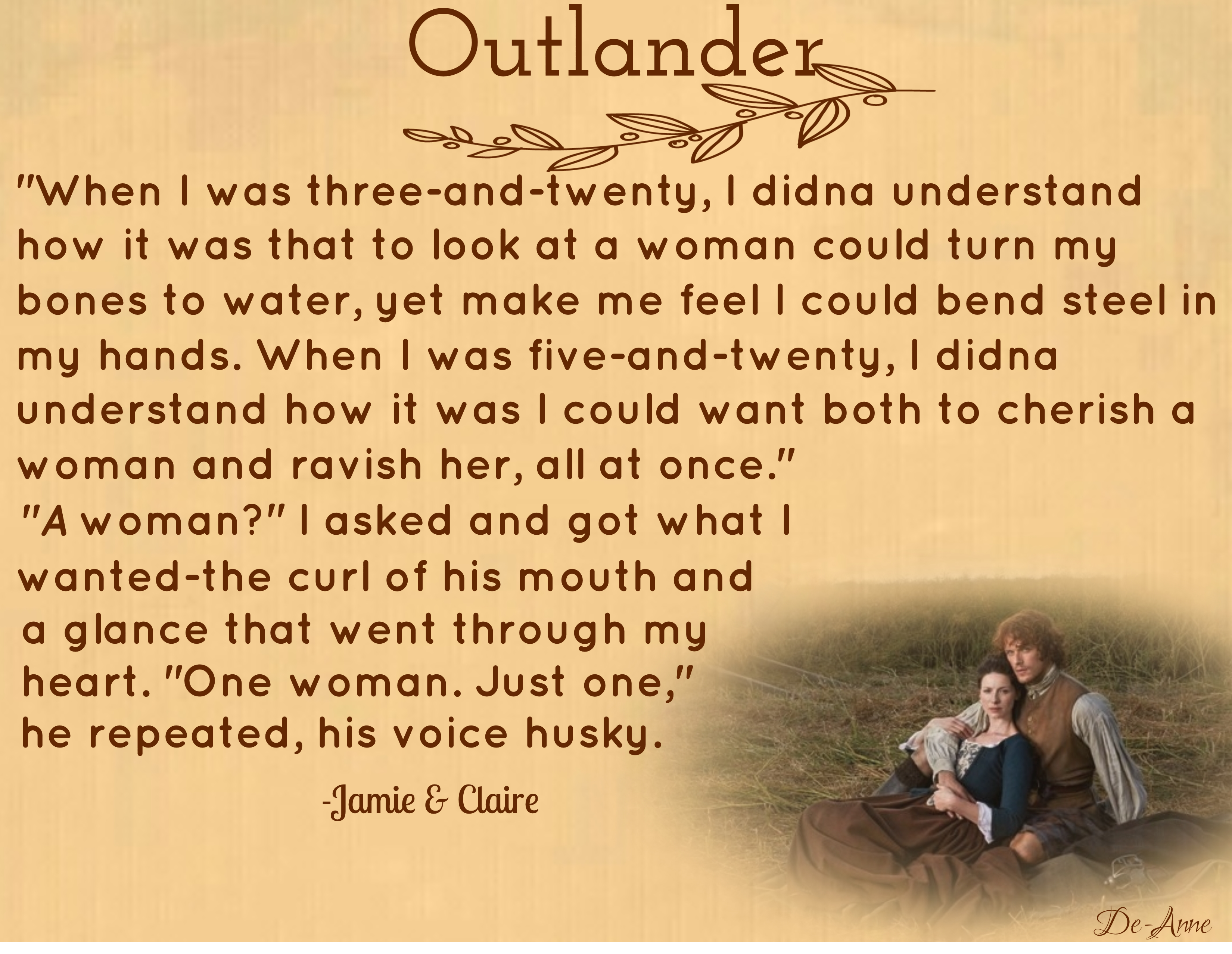 Outlander Love/Jamie & Claire