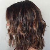 Photo of High Sweep für dunkles Haar – Sweep-Farbe für schwarzes und dunkelbraunes Haar…