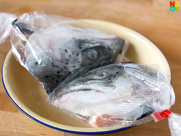 Salmon fish head miso soup salmon and trout pinterest for Fish head soup recipe