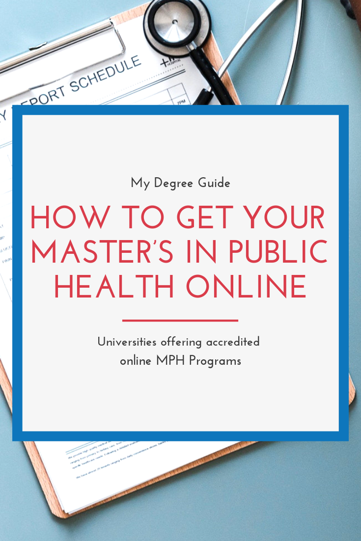 Online MPH Programs  Get Your Masters in Public Health Online