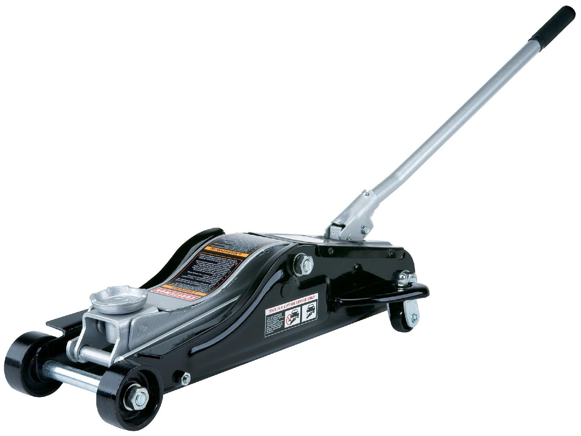 Ton Low Profile Floor Jack Lift 334 to 23 Garage Car
