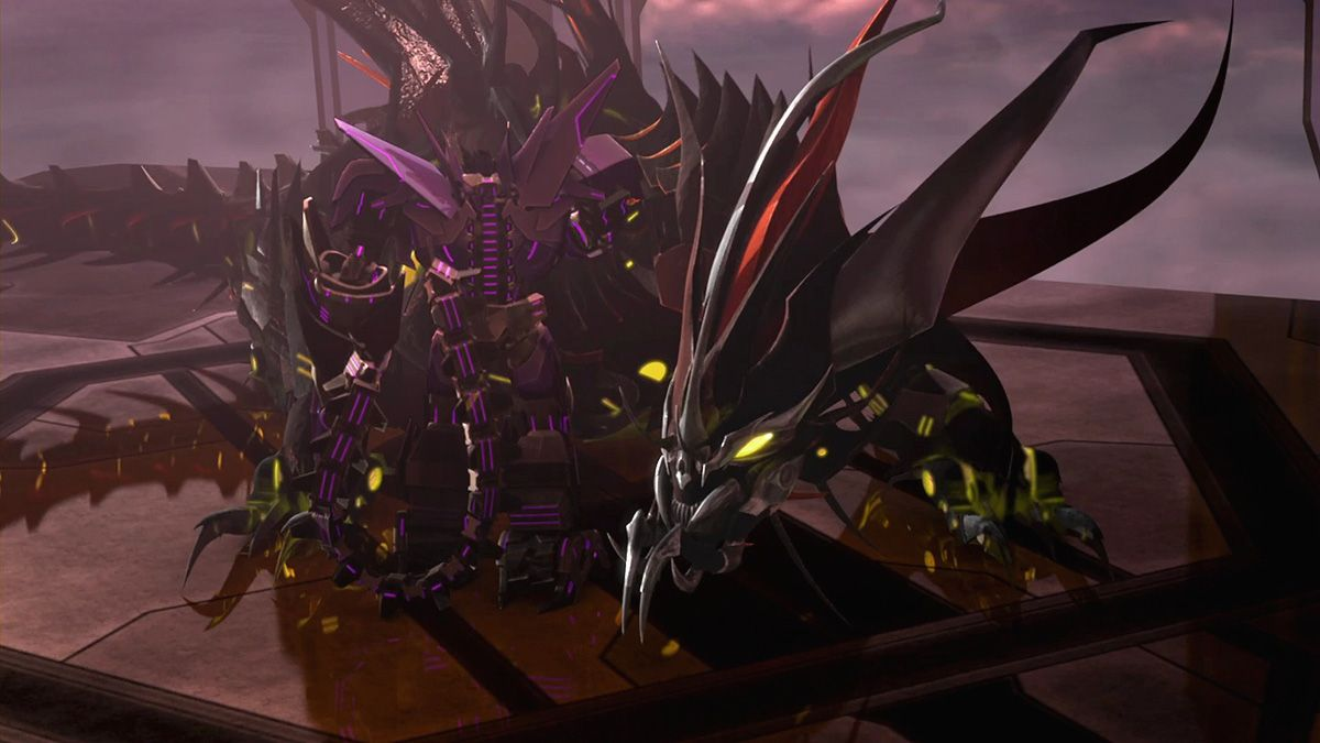 Transformers Prime Beast Hunters S03 E03 Prey Shockwave and
