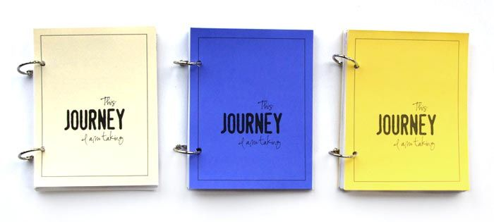 travel journal. has writing prompts, calendars, and loose rings so you can add photos, postcards, and memories
