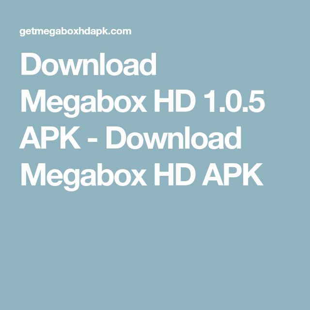 megabox hd 1.0.5 ad free