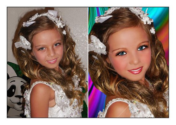 GLITZ Pageant Retouching Professional Custom Photo by StudioCM, $29.50 CottageMoon@aol.com