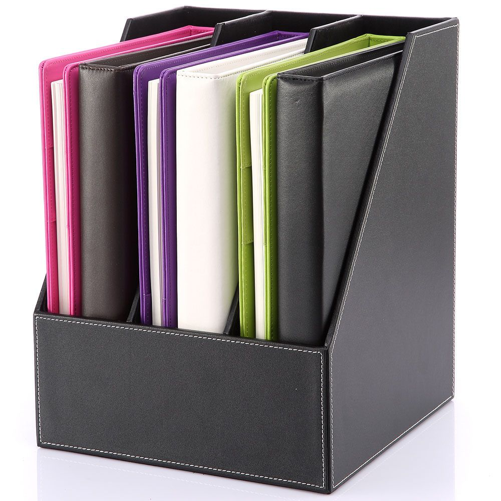 Details About A4/A5/A6 Pu Leather Cover Ring Binder
