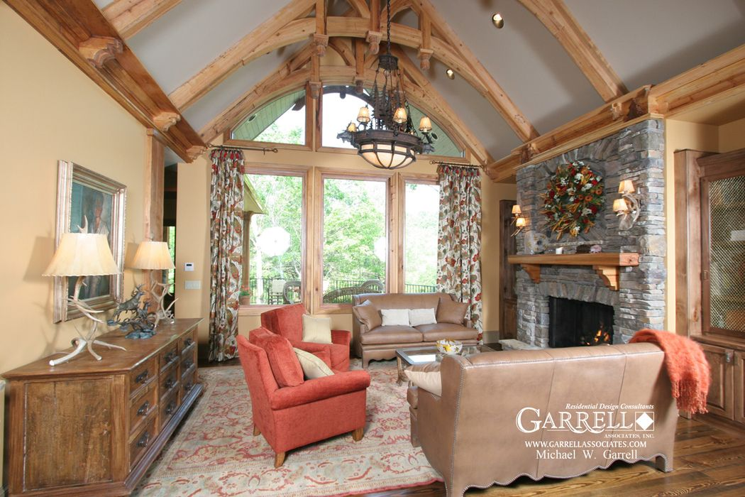 Interior Design Country Style Plans Westbrooks Cottage 11116G Lodge Room Rustic Mountain & Lake .